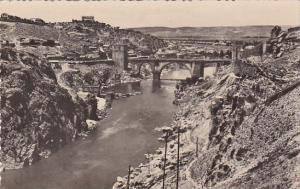 Spain Toledo Puente de San Martin Real Photo