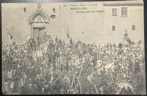 Vintage Picture Postcard Unused Barcelona/Madrid Hauser y Menet Spain LB