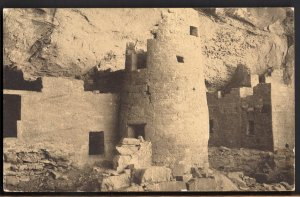 32720) Colorado MESA VERDE RUINS Round Tower Cliff Palace - Divided Back