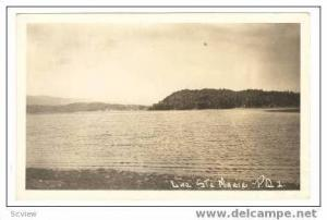 RP, Lac Ste Marie, Quebec, Canada, 1950