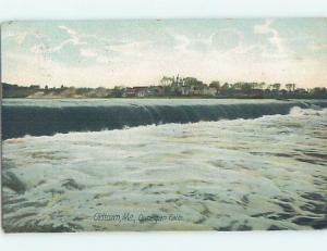 Pre-1907 OUNEGAN FALLS Old Town - Near Bangor Maine ME A0957