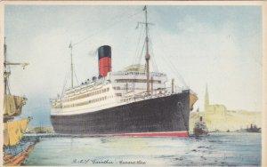 Oceanliner/Steamer/Ship, 1940s ; R.M.S. CARINTHIA