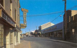 Elkton Maryland~Main Street~Howard Hotel~Package Goods~JJ Newberry Co~1950s PC