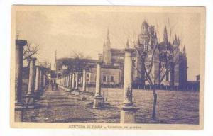 Colonnato Del Giardino, Certosa Di Pavia (Lombardy), Italy, 1900-1910s