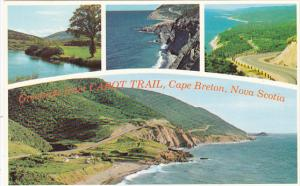 Canada Multi View Greetings From Cabot Trail Cape Breton Nova Scotia