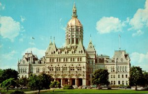 Connecticut Hartford The State Capitol Building