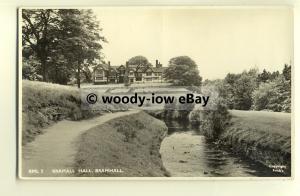 tp8624 - Cheshire - View from the Stream of Bramwell Hall, Bramwell -  postcard