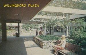 WILLINGBORO, New Jersey, 1950-60s; Willingboro Plaza Shopping Center