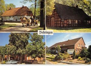 GG12075 Behringen Nordheide Haus Auto Cars, House Horse Carriage Ride