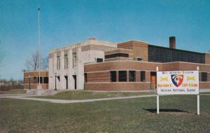 LEBANON, Indiana; Indiana National Guard Armory, 40-60s