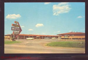 OKLAHOMA CITY OKLAHOMA ROUTE 66 CHIEFTAIN MOTEL VINTAGE ADVERTISING POSTCARD