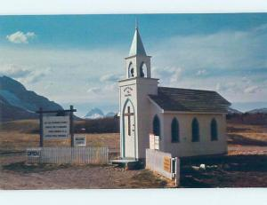 Unused Pre-1980 CHURCH SCENE Blairmore Alberta AB A6552