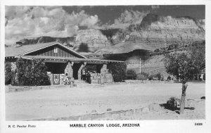Arizona 1940s Marble Canyon Lodge RPPC Photo Postcard Lollesgard 6244