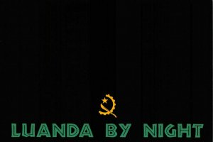NEW Fun Africa Postcard, Luanda, Angola by Night, Graphic, Black & White EP8