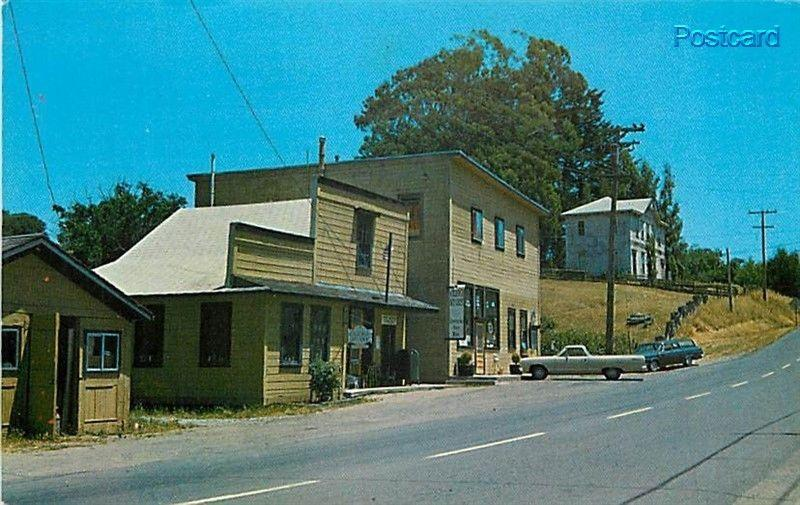 CA, Olema, California, Post Office, Druids Hall, Mike Roberts No. C24250