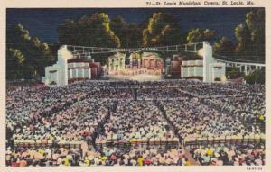 Missouri St Louis Municipal Opera Curteich