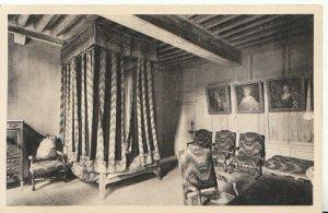 France Postcard - Chateau De Talcy - Chambre Dite De Charles IX - Ref TZ7923