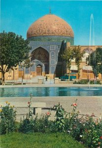 Isfahan Iran Seikh Lutfallah mosque postcard