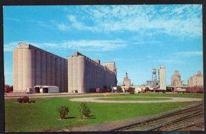 Indiana DECATUR The Home Plant Grain Storage of Central Soya Company - Chrome
