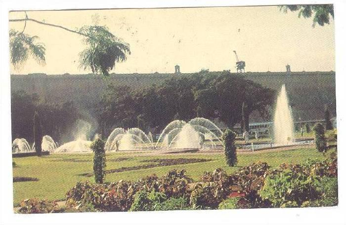 Brindavan Gardens In Daylight, Mysore, Karnataka, India, 40-60s