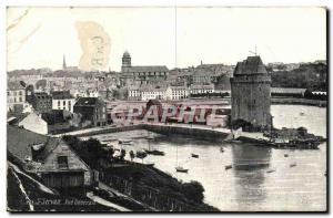 Old Postcard St Servan Vue Generale
