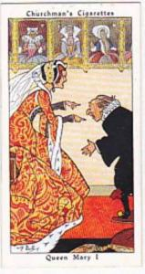 Churchman Vintage Cigarette Card Howlers No 5 Queen Mary I   1937