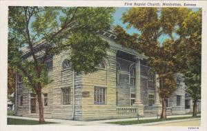 First Baptist Church , MANHATTAN , Kansas , 1930-40s