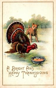 Thanksgiving With Turkey 1913