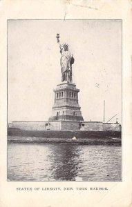 Statue of Liberty New York City, USA 1909