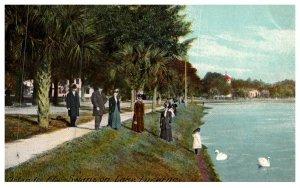 Florida Orlando , Swan's on Lake Lucerne