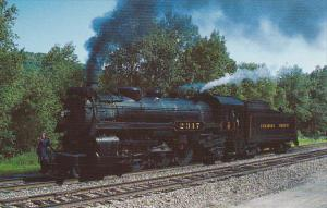 Canadian Pacific Railway Pacific Class Locomotive 4-6-2 Number 2317