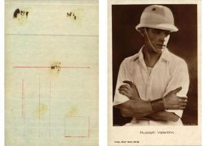 CPA Rudolpf Valentino Ross-Verlag 1090/1 FILM STAR (593629)