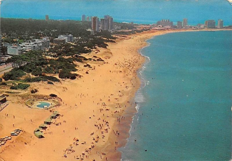 Uruguay Punta del Este Playa Brava Beach Air view