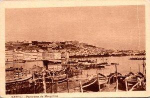 Italy Napoli Panorama da Mergellina