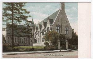 Public Library Scranton Pennsylvania 1905c postcard