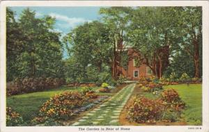 Kentucky Bardstown Federal Hill The Garden In The Rear Of Home 1947