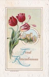 Fond Remembrances Red Tulips 1909