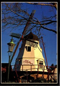 California Solvang The Danish Inn Windmill