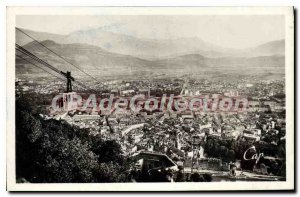 Old Postcard The Remembrance Of The Bastille Teleferique Vue Generale