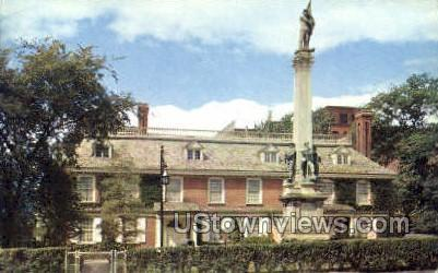 Philips Manor Hall Yonkers NY Postal Used Unknown