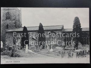 Northampton WELTON CHURCH c1908 Old Postcard