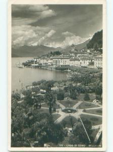 old rppc NICE VIEW Bellagio - Belas - Como - Lombardy Italy i2741