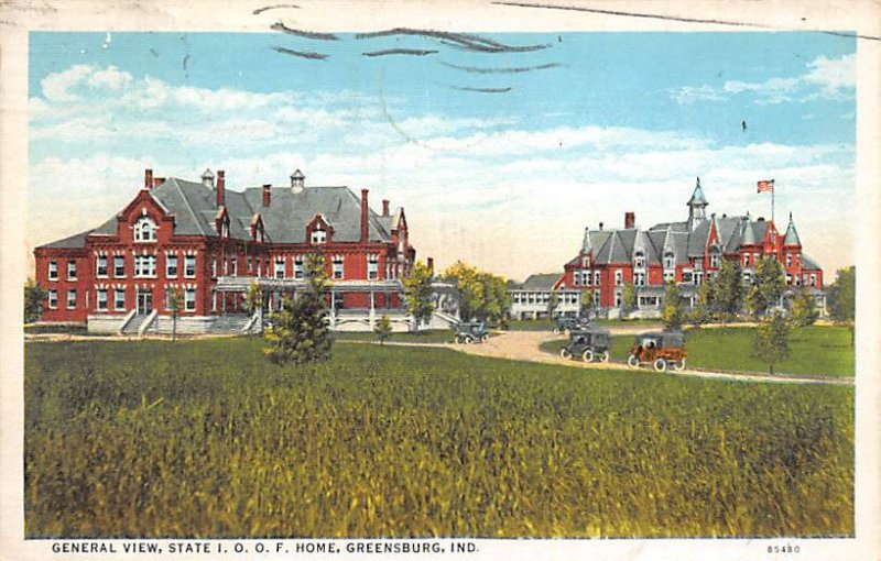 There's the hospital  Novelty  1907
