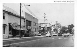 Annville Pennsylvania~Main Street~Storefronts~Rexall~VW Beetle~Lebanon County~Pc