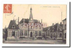 Nogent le Roi Old Postcard L & # City 39hotel