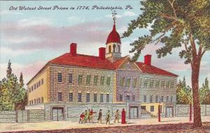 Pennsylvania Philadelphia Old Walnut Street Prison In 1774