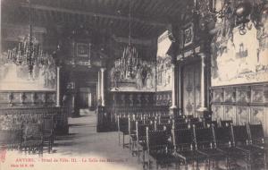 ANVERS, Hotel de Ville III, La Salle des Mariages I, 00-10s