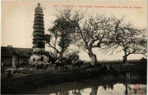 CPA AK INDOCHINA Tonkin Pagode consacre au culte VIETNAM (956541)