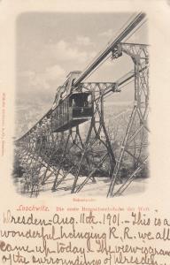 LOSCHWITZ, Dresden, Germany, 1901 ; Bahnstrecke