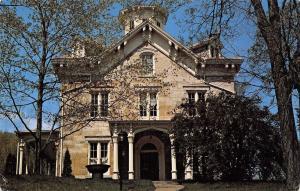 Dubuque Iowa~Lead Miner Mathias Ham House~Italianate Mansion~1980s Postcard